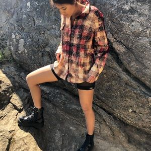 Tops - Customized Bleached Flannel